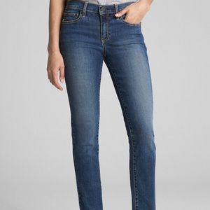 GAP // 1969 real straight jeans